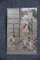 Guerre 1914 -18 : Patriotique - Thermomètre De L'Amour - Patrióticos