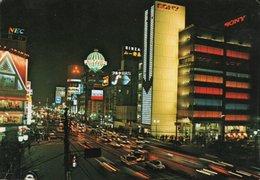 GINZA AT NIGHT-  VIAGGIATA - Tokyo