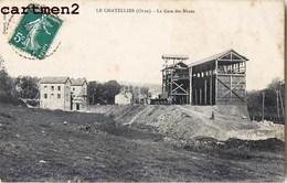 LE CHATELLIER LA GARE DES MINES USINE INDUSTRIE 61 ORNE - France