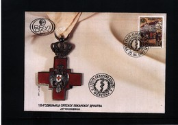 Jugoslawien / Yugoslavia 1997 Serbia Doctor's Society 2816 FDC - Medizin