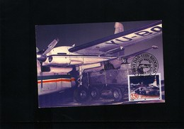 Jugoslawien / Yugoslavia 1997 Stamp Day - Airmail Post Michel 2816 Maximumcard - Post