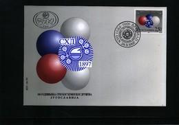 Jugoslawien / Yugoslavia 1997 Chemistry Society Michel 2832 FDC - Chemie