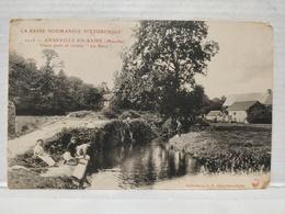 Anneville-en-Saire. Vieux Pont Et Rivière La Saire. Animée - Otros Municipios