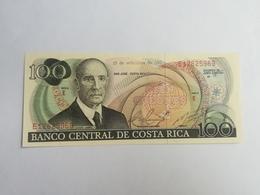 COSTARICA 100 COLONES 1981 - Costa Rica