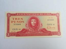 CUBA 3 PESOS 1985 - Cuba