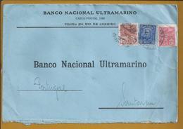 Carta Do Rio De Janeiro Stamp Do 1º Presidente Da República Deodoro Da Fonseca. Banco Nacional Ultramarino. - Historia