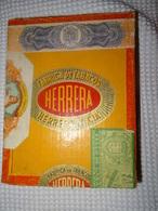 BOITE EN BOIS DE CIGARES VIDE - HERRERA - 25 GANDHI - Cigares - Accessoires