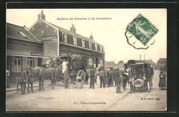 AK Scenes De Douane A La Frontiere, Visite D'Automobile, Grenze - Douane