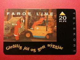 FAROE ISLAND - Faroe Line Christmas 12.1993 - Tirage 2000 Ex - 12/93 (FA0718) - Faroe Islands