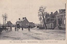 CPA  : Saint Antoine (58) Environ De Nevers  Jonction De La Route Du Guetin  Boulangerie Pajot   Ed BF N° 172 - Autres Communes