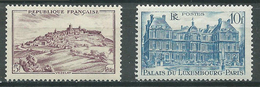 France YT N°759/760 Monuments Et Sites Neuf ** - Francia