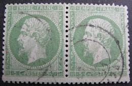 R1680/168 - NAPOLEON III (PAIRE) N°20 - CàD - 1862 Napoleon III