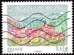 Oblitération Moderne Sur Timbre De France N° 4881 Série Touristique - Coaraze (Alpes Maritimes) - France