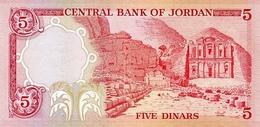 JORDAN P. 19c 5 D 1980 UNC - Jordanie