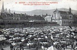 71 - AUTUN Foire De La Saint Ladre - Autun