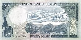 JORDAN P. 22a 20 D 1977 UNC - Jordanie