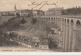 C.P.A. - LUXEMBOURG - LE VIADUC DE LA PETRUSSE -  PASSERELLE - 8 - PRECURSEUR - - Andere