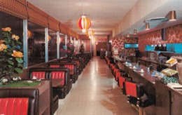 Salinas California Based 'Golden West Pancakes' Restaurant Interior View, C1960s Vintage Postcard - United States