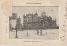 C.P.A. - BUENOS AIRES - PABELLON ARGENTINO - PRÉCURSEUR - Argentine