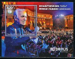 XE1105 Armenia 2018 Famous Pop Singer S/S MNH - Armenia