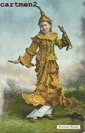 BURMESE BEAUTY DANCE MOULMEIN BIRMANIE MYANMAR BOUDDHISTE BURMA ETHNOLOGIE ETHNIC ASIA AHUJA RANGOON - Myanmar (Burma)