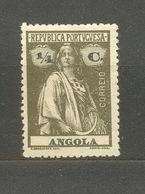 Portuguese Angola. 1914 1 - Angola