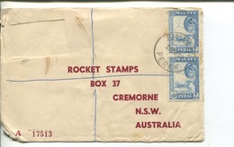(111) Malaysia (Perak) To Australia - Registered Cover - 1961 - Malaysia (1964-...)