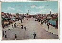 TURQUIE - CONSTANTINOPLE (Istambul) - Le Nouveau Pont 1912 - Animée (K197) - Turkey
