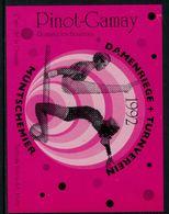 Rare // Etiquette De Vin // Gymnastique // Pinot-Gamay, Damenriege + Turnverein 1993 - Etiquettes