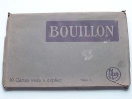 BOUILLON / Carnet 10 Zichtkaarten / Ansichtskarten / Cartes Vues Série 1 Nels ( G. TOUSSAINT-WAUTHOZ ) ! - Bouillon