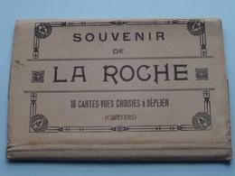 LA ROCHE / Carnet 10 Zichtkaarten / Ansichtskarten / Cartes Vues Série Legia Couleur ( Edit. BUTENAERS Liège ) ! - La-Roche-en-Ardenne