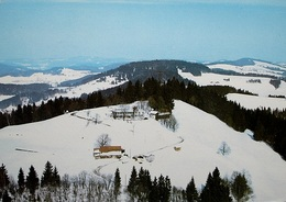 HINWIL Flugaufnahme Bachtel-Kulm - ZH Zurich