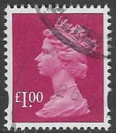 GB SGY1725b 2007 Machin £1 Good/fine Used [5/5509/25D] - Machins