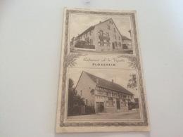 "BJ - 1000 - PLOBSHEIM - Restaurant ""A La Vignette"" - France"