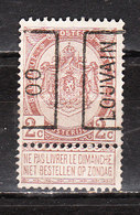 PRE324A  Armoiries - Année 1900 - LOUVAIN - MNG - LOOK!!!! - Precancels