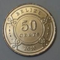 Belize - 50 Cent - 2010 , UNC. Agouz - Belize
