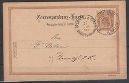 2 Kr. GA-Karte Mi. Nr. P 93 Mit Interess. PRIVATZUDRUCK - Stamped Stationery