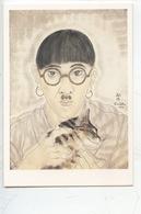 Tsugouharu Foujita 1886/1968 Portrait De L'artiste 1968 (autoportrait) Cp Vierge (MAM Paris) - Pittura & Quadri