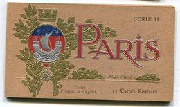 CPA  75 : PARIS   Carnet De 12 Cartes   A  VOIR  !!!!!!! - France