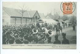 Brasschaat Passage D'un Régiment D'infanterie ( Fanfare Militaire ) - Brasschaat