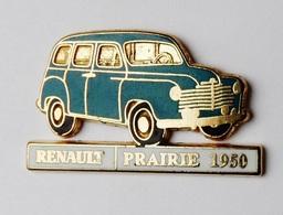 Pin's Voiture Renault Prairie 1950 Signé CEF - Badges