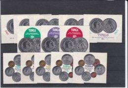 Tonga 1977 HM Coronation 13 Stamps MNH/** (M38) - Tonga (1970-...)
