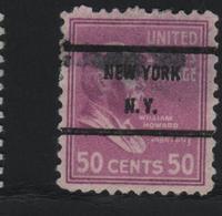 USA 495 SCOTT 831 NEW YORK N.Y. - Estados Unidos