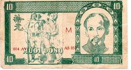 Vietnam  10 Dong 1948 - Viêt-Nam