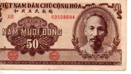 Viet - Nam  50 Dong 1955 - Viêt-Nam