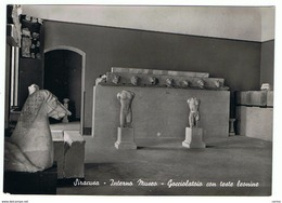 SIRACUSA:  INTERNO  MUSEO  -  GOCCIOLATOIO  CON  TESTE  LEONINE  -  FOTO  -  FG - Musées