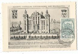 BELGIQUE 10FR BEAULIEU CARTE MAXIMUM CARD MAX BRUXELLES 14.5.1952 - Cartes-maximum (CM)