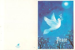 D1451 Peace Pigeon Greetings Card - Holidays & Celebrations