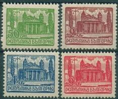 Bulgarian National Theater - Bulgaria / Bulgarie  1947 - Set(Mi No 631,5,7,9) MNH** - Neufs