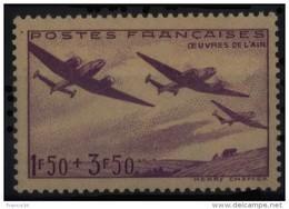 N° 540 - X X - ( F 178 ) - ( Oeuvres De L'Air ) - France